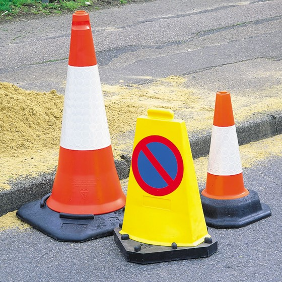 Road Works Safety Image