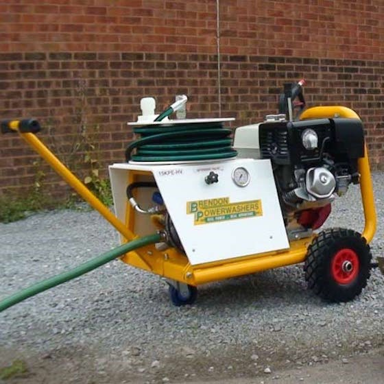 Trolley Mounted Petrol Washer Image