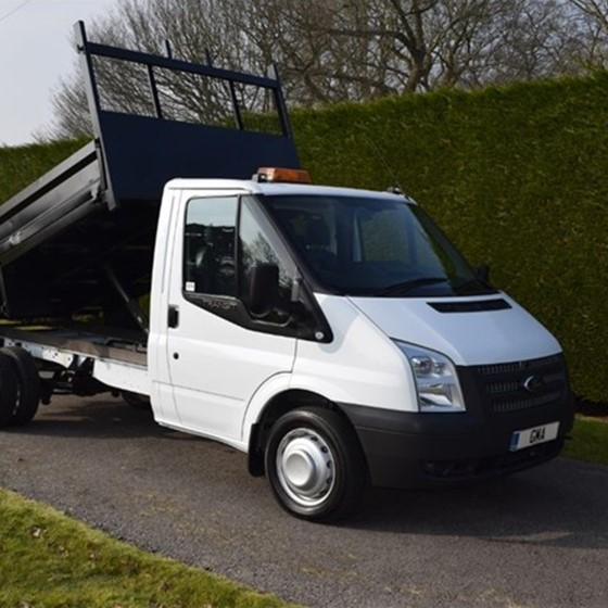 Ford Transit T350 Tipper Image