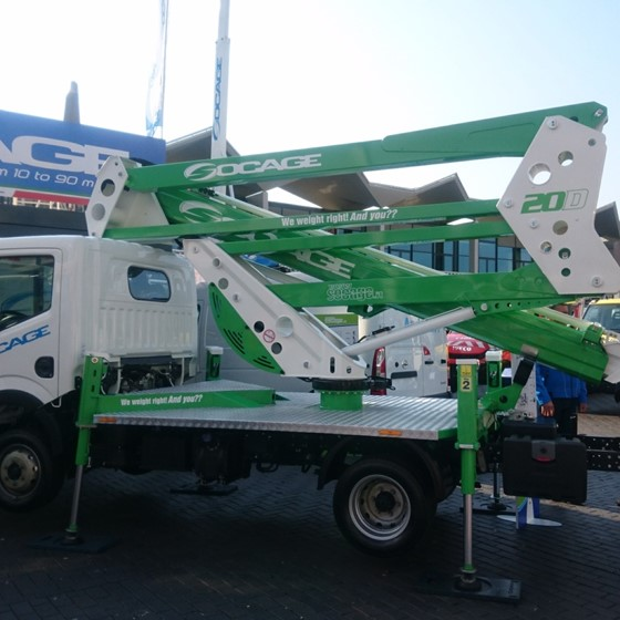 20m Truck Mounted Articulated Boom Image