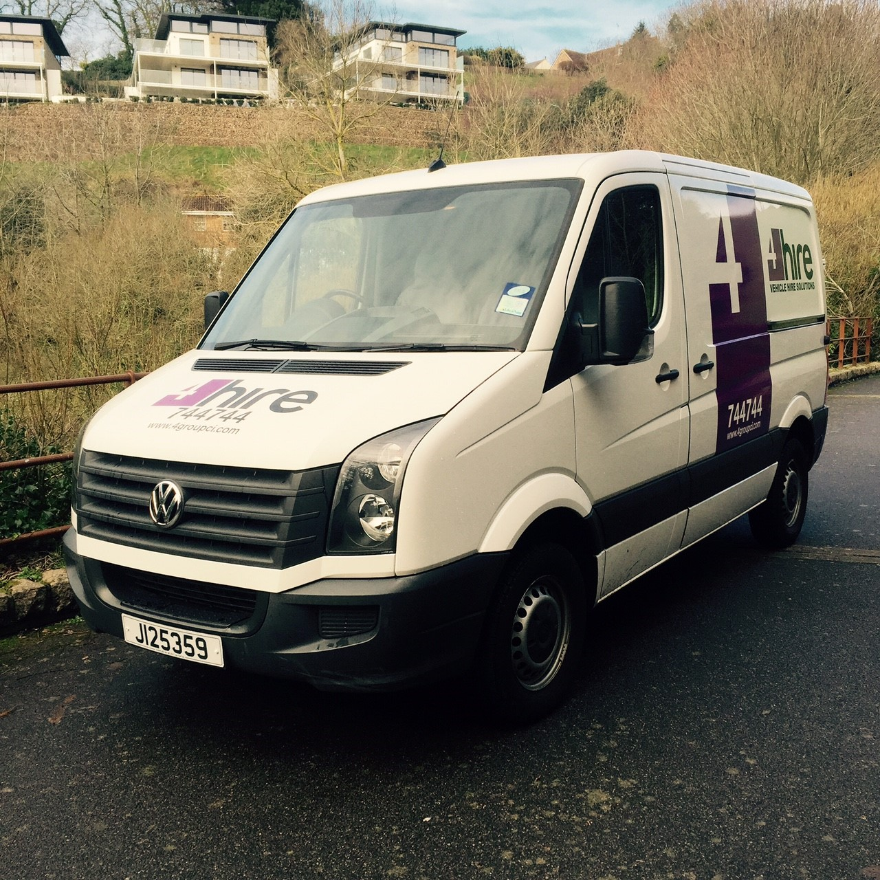 2014 VW Crafter  CR30 SWB van Image 1