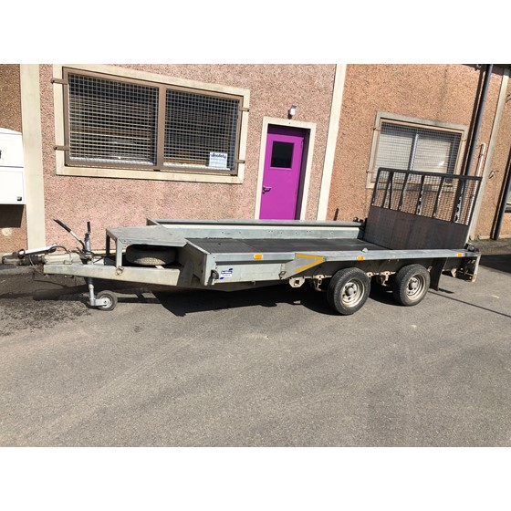 Ifor Williams GP126 plant trailer Image 1