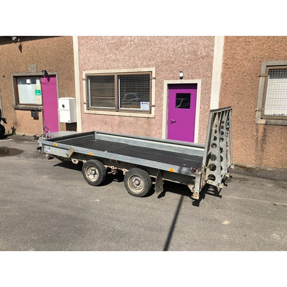 Ifor Williams GP126 plant trailer Image 4