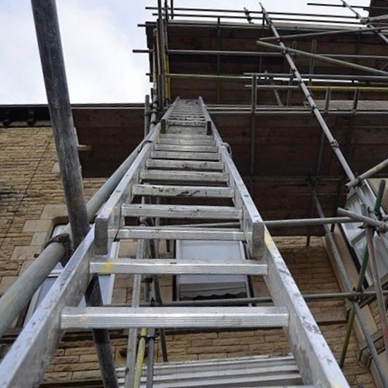 Safe Use of Ladders and Steps Image