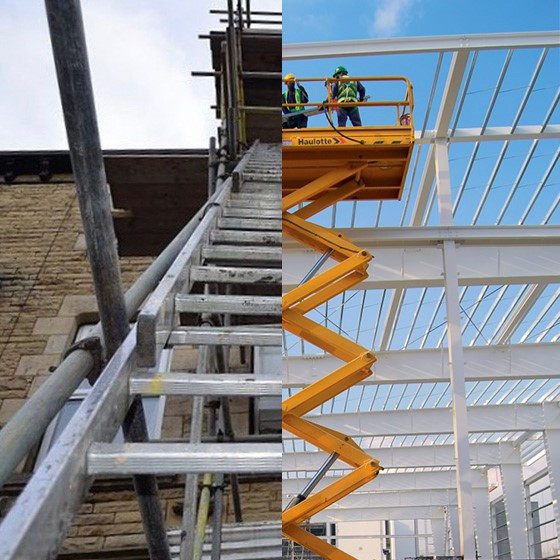 Safe Working at Heights with Ladders and Steps Image