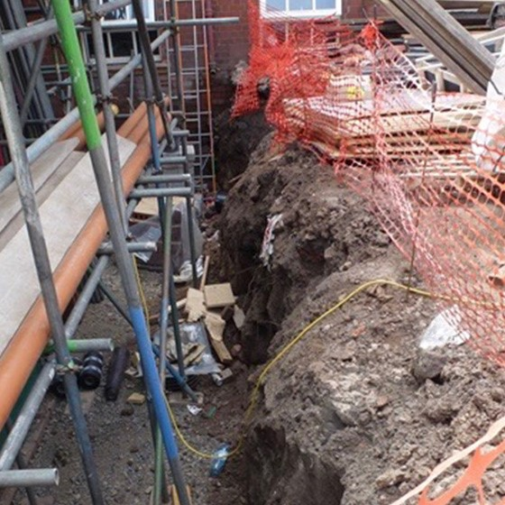 Safety in Excavations Image