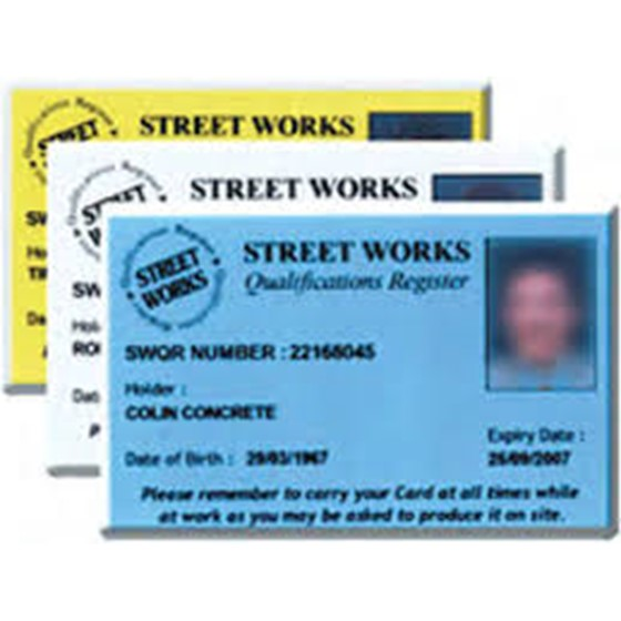 Full UK Street Works Operative or Supervisor Image