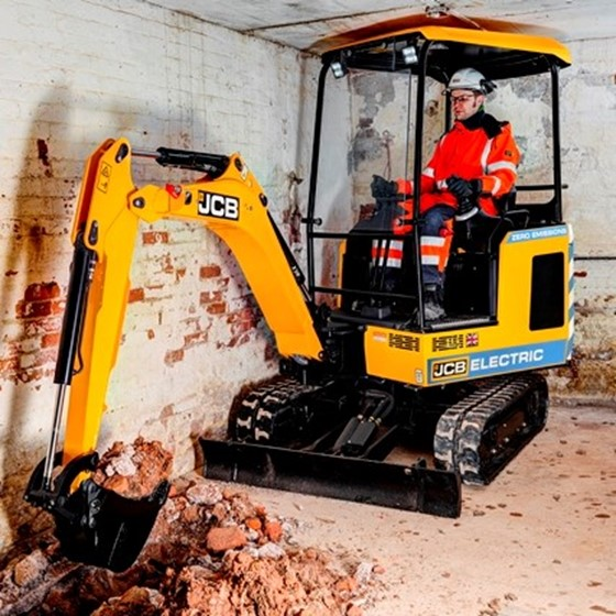 1.9 Tonne electric powered excavator Image