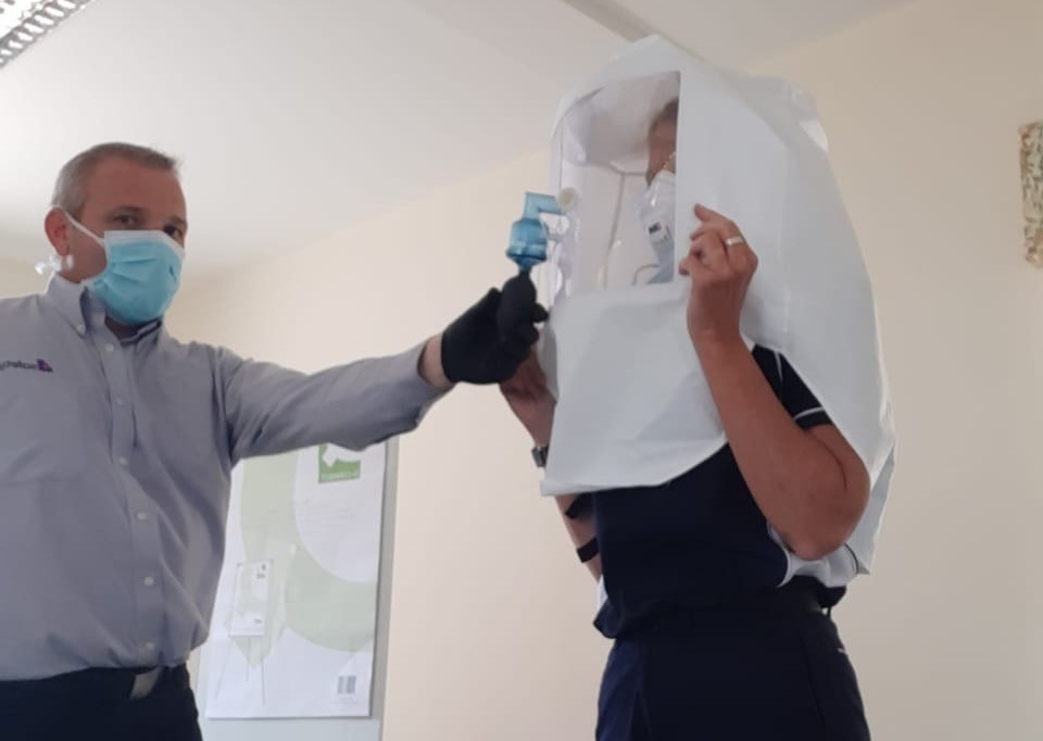 Covid – 19  Face Fit Testing for Jersey Ambulance Service Image